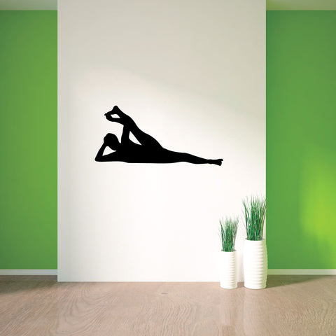 Yoga Meditation Wall Decal Sticker 52