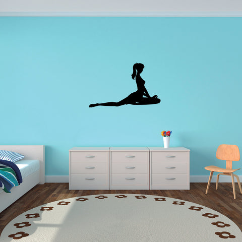 Yoga Meditation Wall Decal Sticker 57