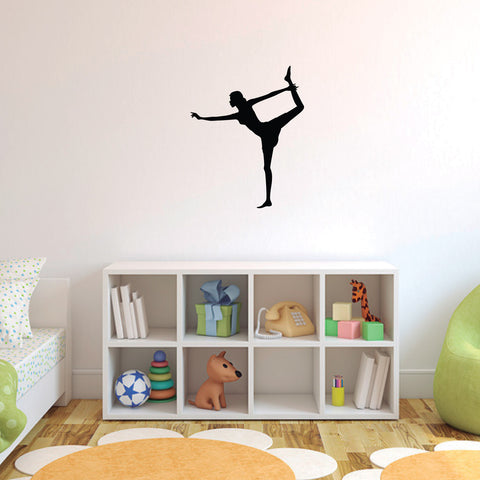 Yoga Meditation Wall Decal Sticker 58