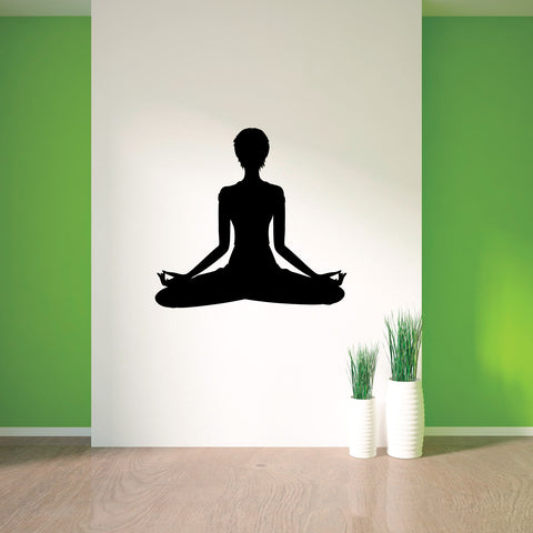 Yoga Meditation Wall Decal Sticker 68