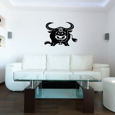 Ox Chinese Zodiac Wall Decal Sticker 2