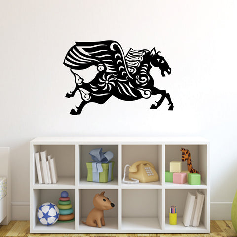 Horse Chinese Zodiac Wall Decal Sticker 7
