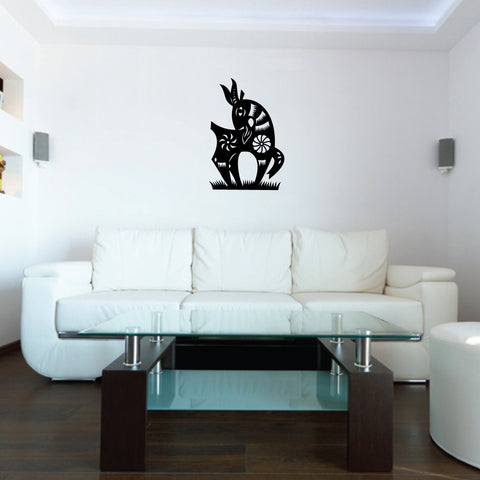 Goat Chinese Zodiac Wall Decal Sticker 8