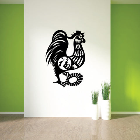 Rooster Chinese Zodiac Wall Decal Sticker 10