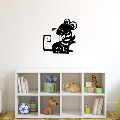 Rat Chinese Zodiac Wall Decal Sticker 13