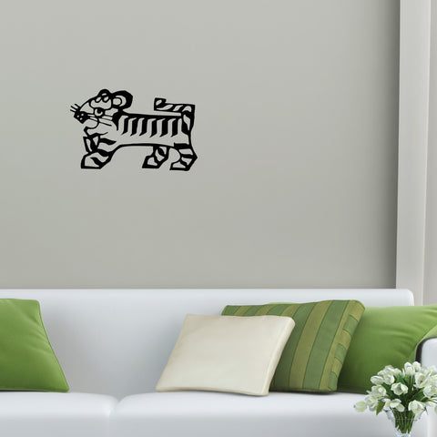 Tiger Chinese Zodiac Wall Decal Sticker 15