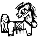 Horse Chinese Zodiac Wall Decal Sticker 19
