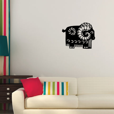 Goat Chinese Zodiac Wall Decal Sticker 20