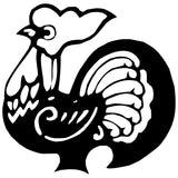 Rooster Chinese Zodiac Wall Decal Sticker 22