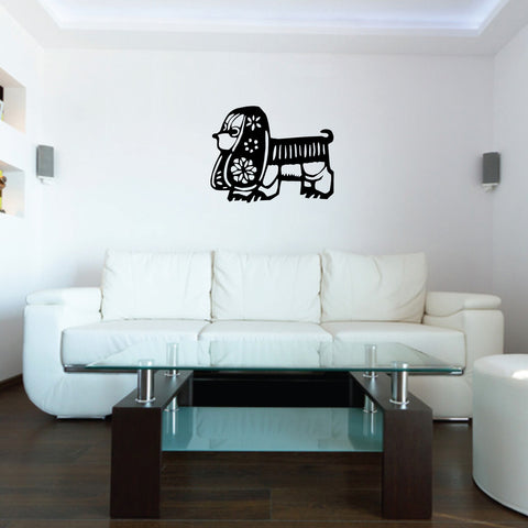 Dog Chinese Zodiac Wall Decal Sticker 23