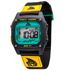 Freestyle Shark Clip Digital Display Japanese Quartz Black Watch (10019182)