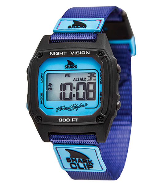 Freestyle Shark Clip Digital Display Japanese Quartz Purple Watch (10019183)