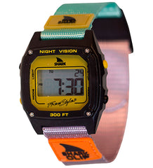 Freestyle Shark Clip Digital Display Japanese Quartz White Watch (10026749)