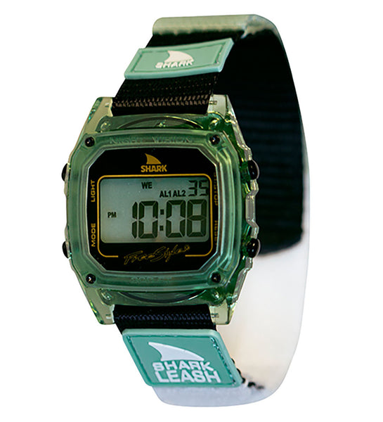 Freestyle Shark Leash Digital Display Japanese Quartz Green Watch (10027029)