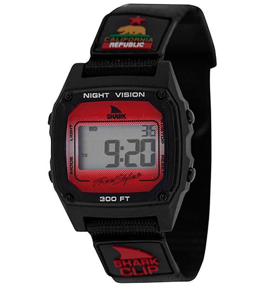 Freestyle Shark Leash Digital Display Japanese Quartz Red Watch (10027329)