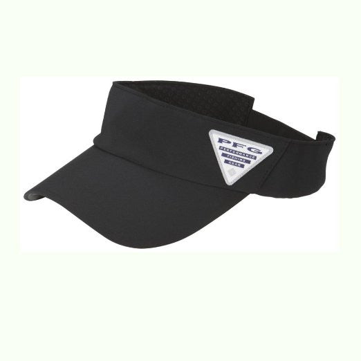 Columbia Coolhead Visor Cap Hat - Black - Mens