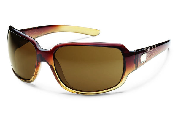 Suncloud  Cookie Polarized Sunglasses  - Brown Fade Laser Frame - Mens