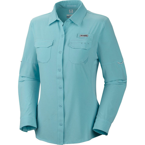 Columbia PFG Ultimate Chill II Long Sleeve Shirt - Coral Flame - Womens
