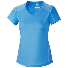 Columbia Zero Rules Short Sleeve T-Shirt Athletic Tee - Harbor Blue - Womens
