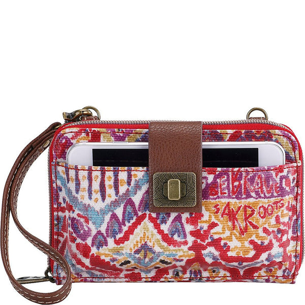 Sakroots Artist Circle Smartphone Cross-Body Bag