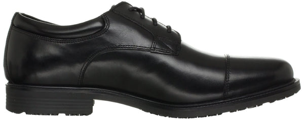 Rockport Essential Details WP Cap Toe Oxford Shoe - Black - Mens