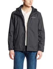 Columbia Watertight II Front-Zip Hooded Rain Jacket - Men's