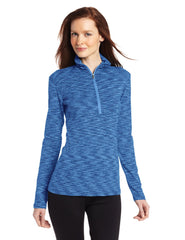 Columbia Outerspaced Half Zip Pullover - Harbor Blue - Womens
