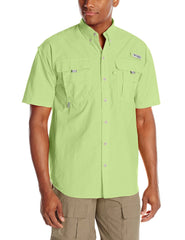 Columbia Sportswear Bahama II Short Sleeve Shirt - Jade Lime - Mens
