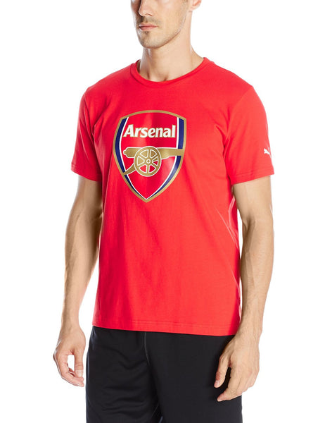 Puma AFC Fan Crest Tee - High Risk Red - Mens