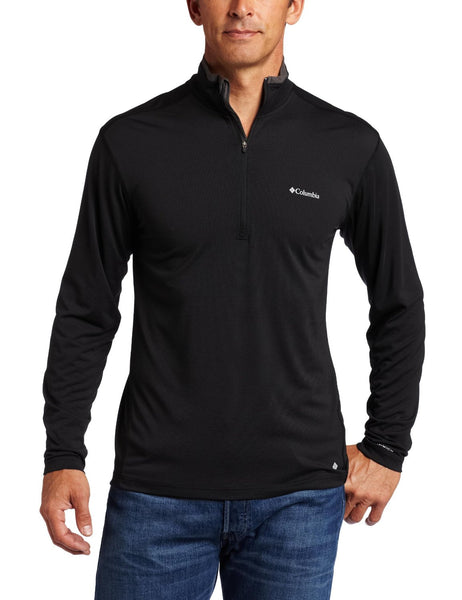 Columbia Mountain Tech Half Zip Pullover - Black - Mens