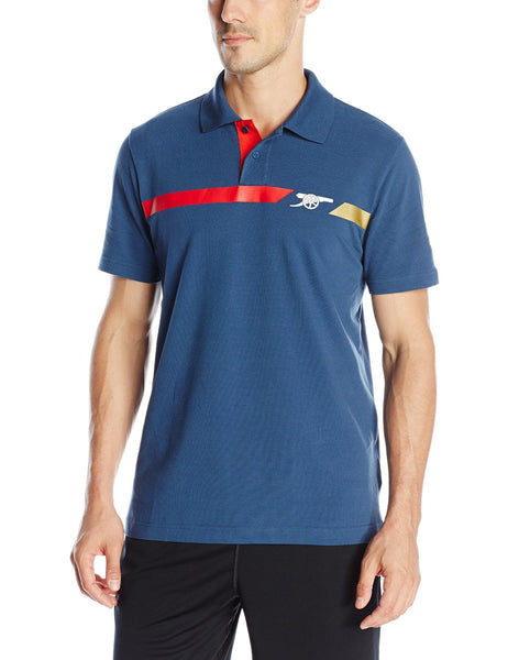 Puma AFC Arsenal Cannon Fan Polo Shirt - Dark Denim - Mens