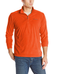 Columbia Klamath Range II Half Zip Pullover - Backcountry Orange - Mens