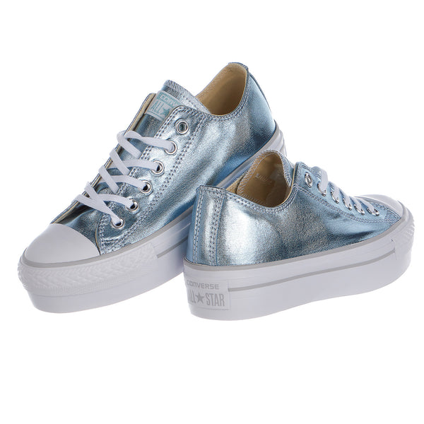 Converse Chuck Taylor All Star Platform Metallic Low Top - Women's