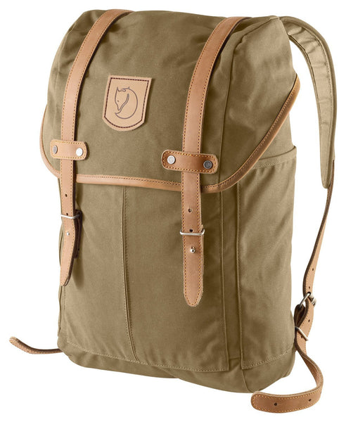 Fjallraven Unisex Rucksack No.21 Small Backpack Tan