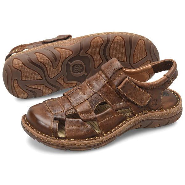 Born Men's CABOT III Sandals - Brown