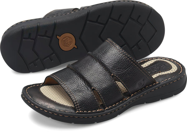 Born Men's WEISER Sandals - Black