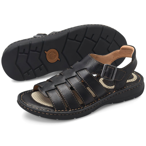 Born Men's WICHITA Sandals - Black