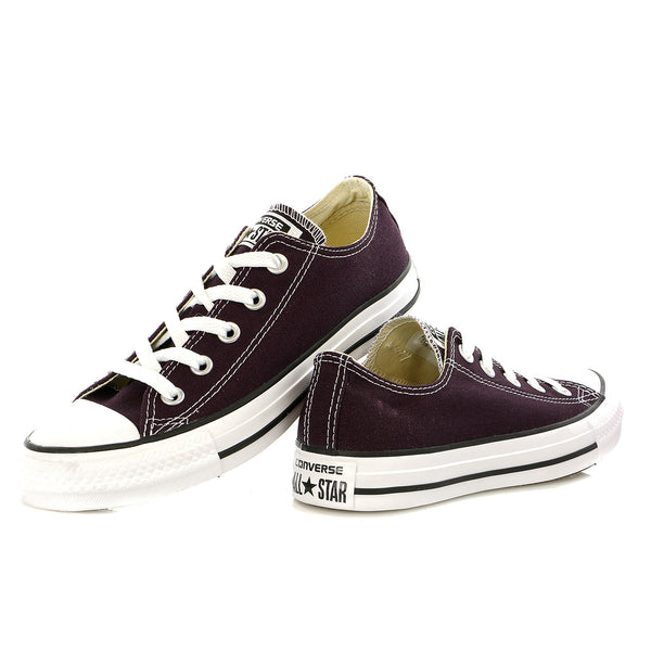 Converse Chuck Taylor All Star Lo Top Black Cherry