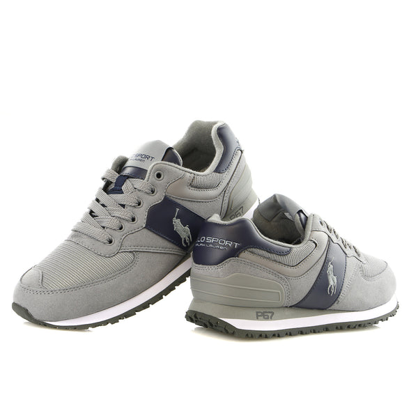 Polo Ralph Lauren Slaton Pony Fashion Sneaker Athletic Shoe - Mens