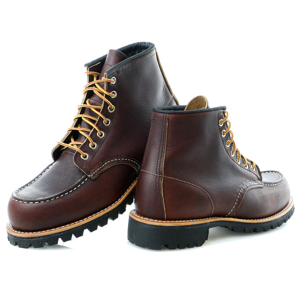 "Red Wing Heritage 8146 6"" Roughneck Moc 7 Eye Casual Boot Shoe - Mens"