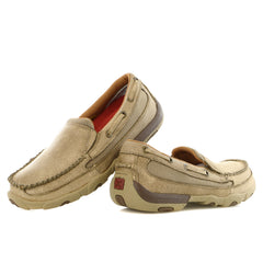 Twisted X Bomber Driving Moccasin Toe Slip-On Boat Shoe - Womens