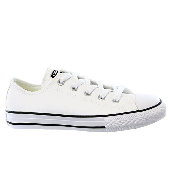 Converse CT Lthr OX Faux Leather Sneakers - Boys