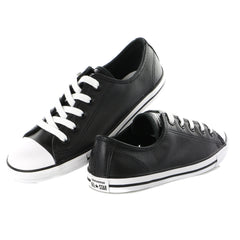 Converse CT Dainty Ox Black Trainers -Womens