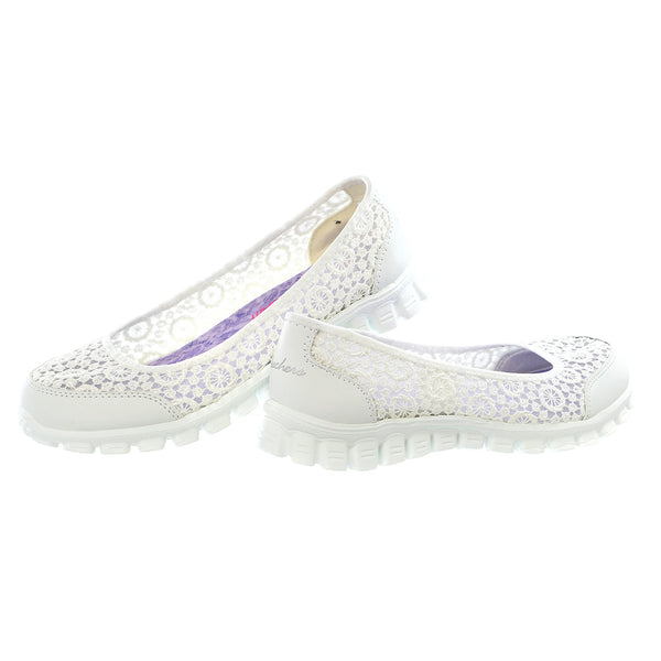 Skechers Sport EZ Flex Sweetpea Slip-On Flat - Women's