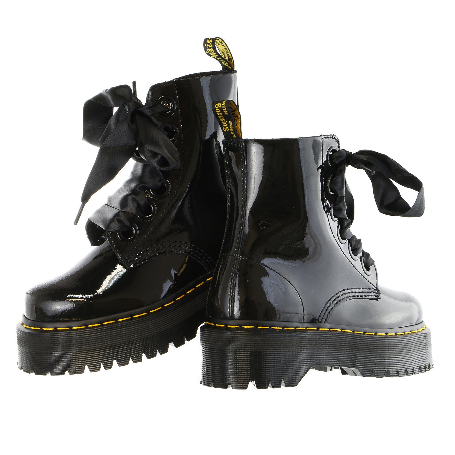 Dr. Martens Molly Combat Boot - Women s - Shoplifestyle 4682e5206