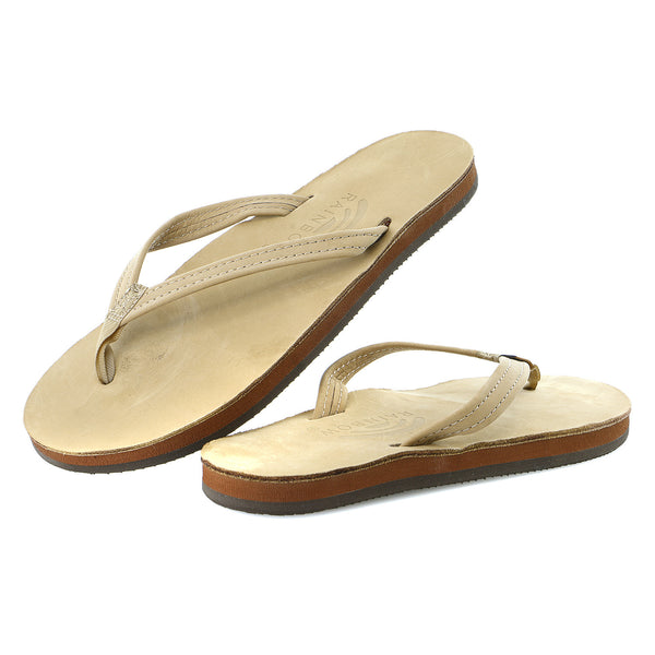 Rainbow Sandals Premier Leather Single Layer Narrow - Women's