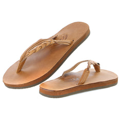 Rainbow Sandals Flirty Braidy Single Layer Classic Leather Sandal - Women's