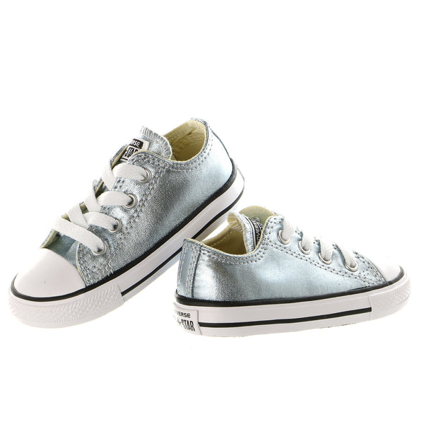 Converse Kids Chuck Taylor All Star Metallic Canvas Ox -Kid's(Toddler)