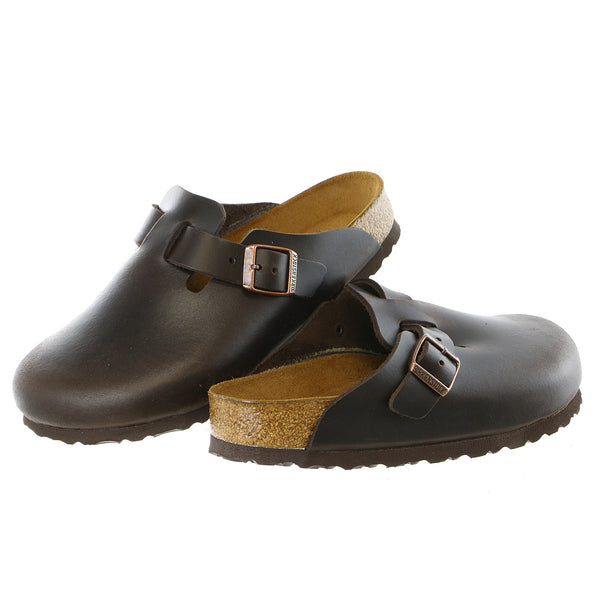 Birkenstock Boston Footbed Amalfi Leather Clog