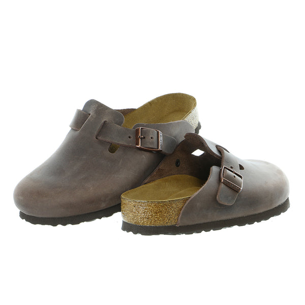 Birkenstock Boston Soft Footbed Oiled Leather Clog